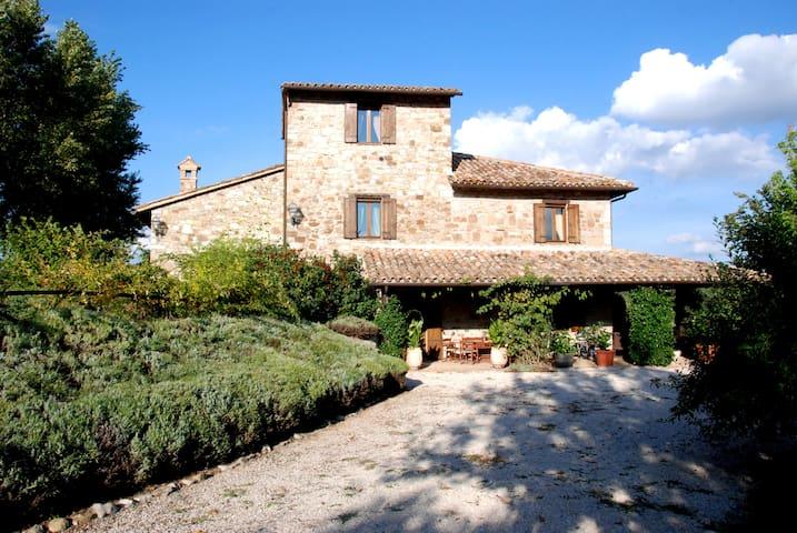 luxury panoramic villa - Todi - Willa
