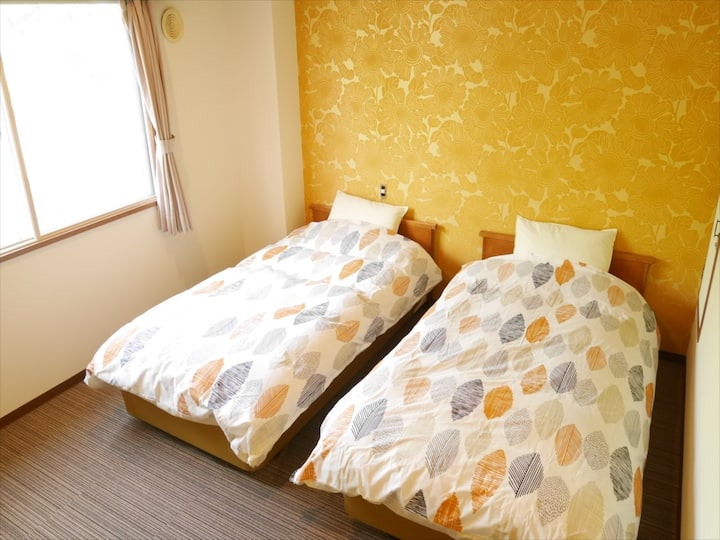 Twin Room – Hostel in National Park