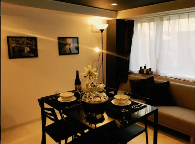 Clean and relaxing room in Sapporo, 4 ppl