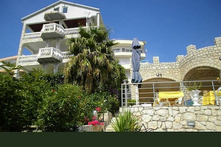 Villa with private beach and swimming pool