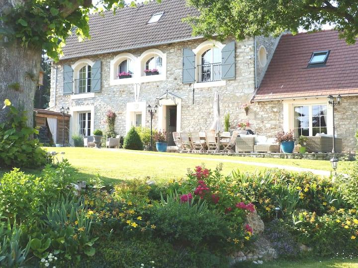 Vexin 78 Chambres d'hôtes La Bergerie Jambville ch