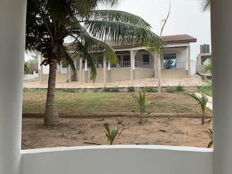 Mankoadze beach house
