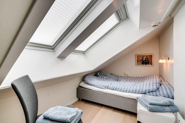 bedroom No 2, single bed (75 cm)