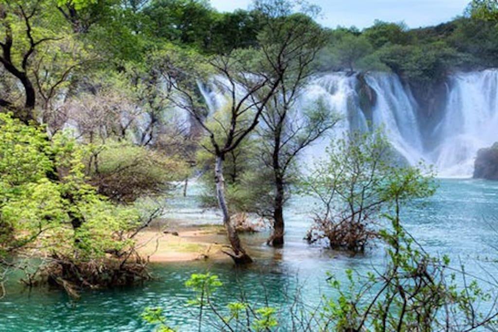 Waterfalls Kravica