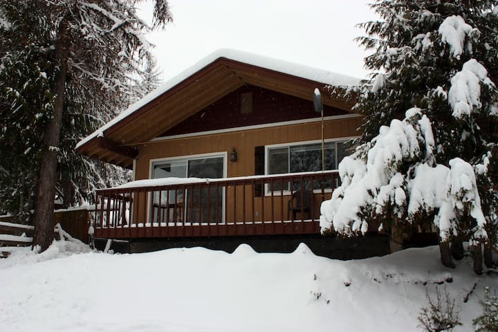 Priest Lake Cozy Cabin with Modern Amenities - Priest River