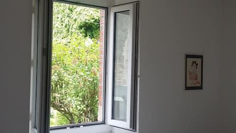 Merlines : appartement T2 en rez de chaussée