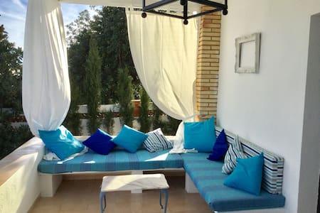Villa mediterranea en la costa - Alcanar - Rumah