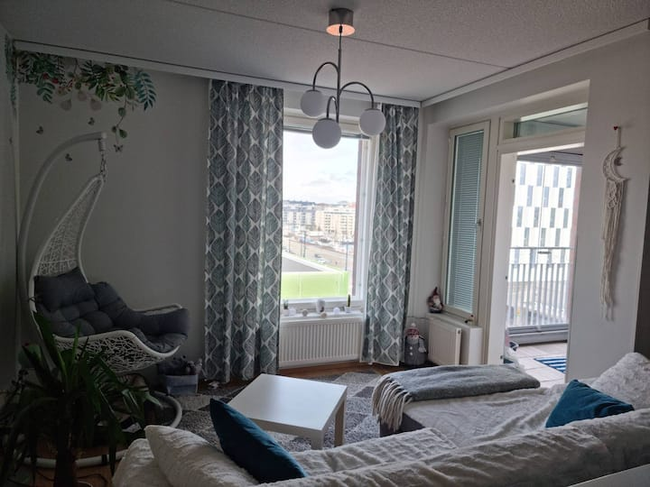 Comfy apartment near the center of Helsinki.