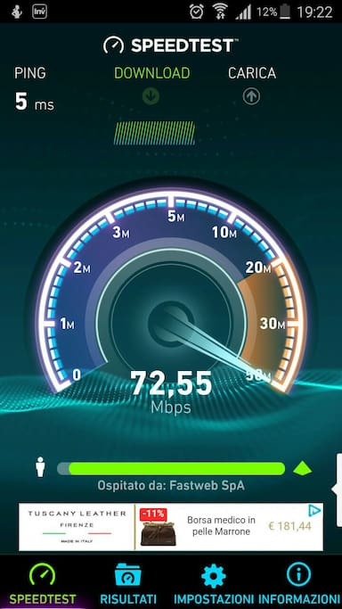 High speed broadband