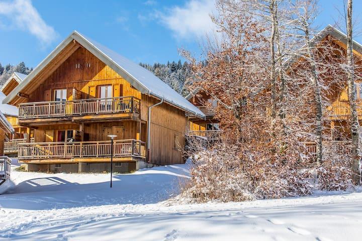 Appart charmant, 30 minutes des thermes | Accès piscine + Ski Nordique!