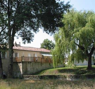 Grand gîte dans un moulin du XV éme siécle - Lagarde-sur-le-Né - Talo