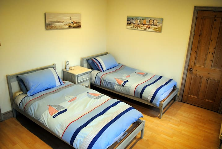 Seaside Themed room in Luxury Farmhouse - Ilkley - B&B