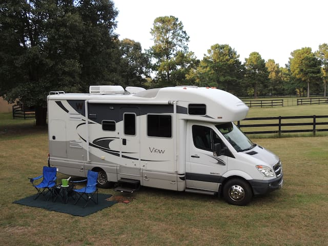 Master's Week Glamping in Aiken's Horse Country