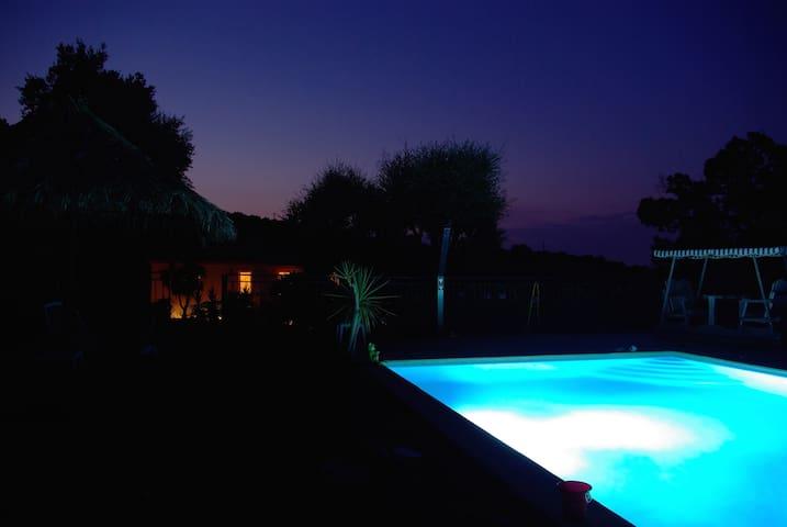 Penth  luxe villa vue mer  pisc  4/5p - Le Plan-de-la-Tour - Pis