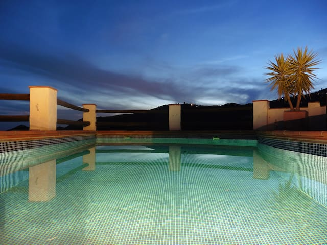 A private Casita with spectacular (sea) views
