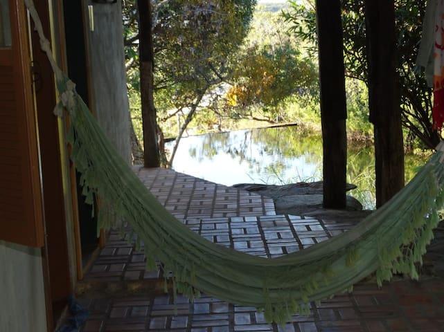 Estação Cipó: Sítio com piscinas naturais