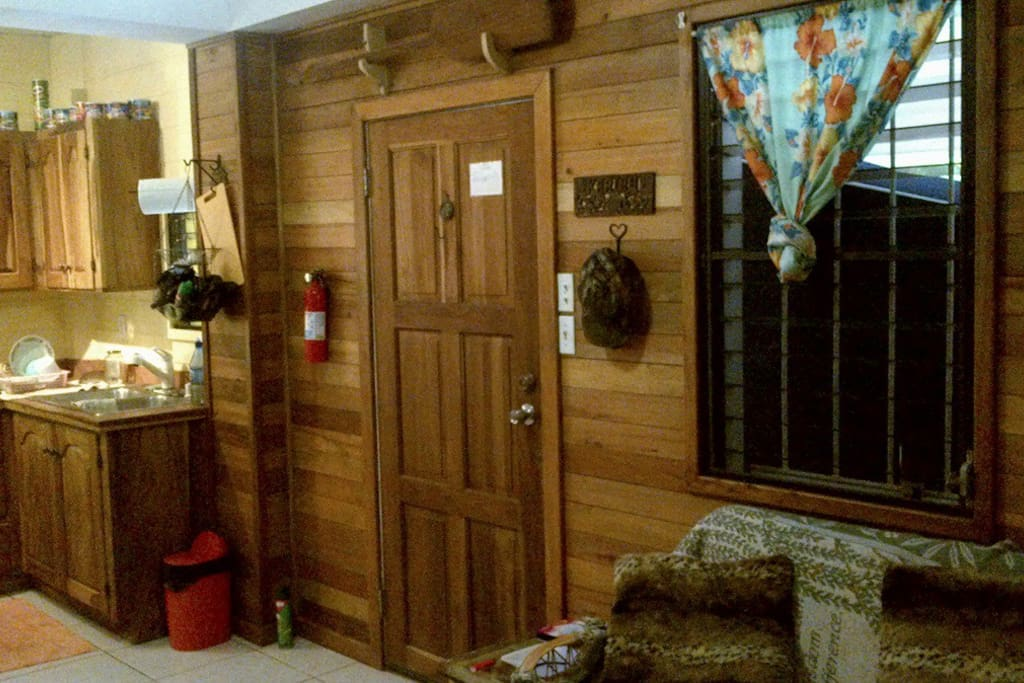 Wood Panelling in First Floor Apartment