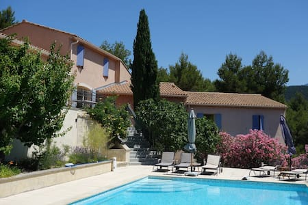 Chambre d'hôtes pour 2 personnes - Mont Ventoux - Le Barroux - Oda + Kahvaltı