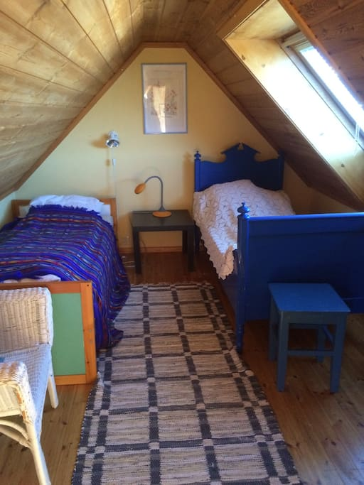 Third level room, with two beds.
