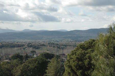 Chalet acogedor con precioso paisaje - Calalberche - Flat