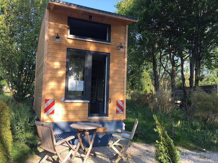 Designer Künstler Tiny House (12 m2) am Ammersee