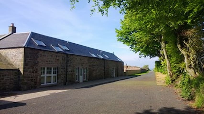 Hayloft House set in a quite rural area - Scottish Borders