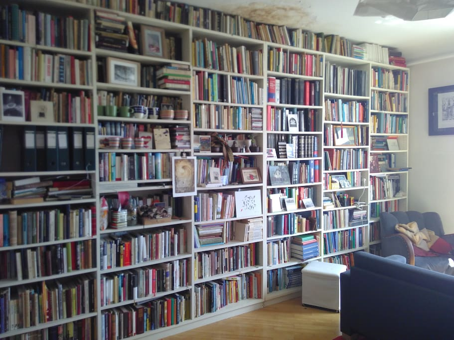 Do you like the company of books? This is the place.
