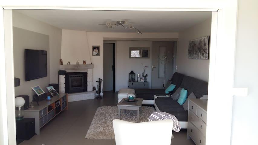Maison contemporaine 8 couchages avec piscine - Bédarrides - Casa