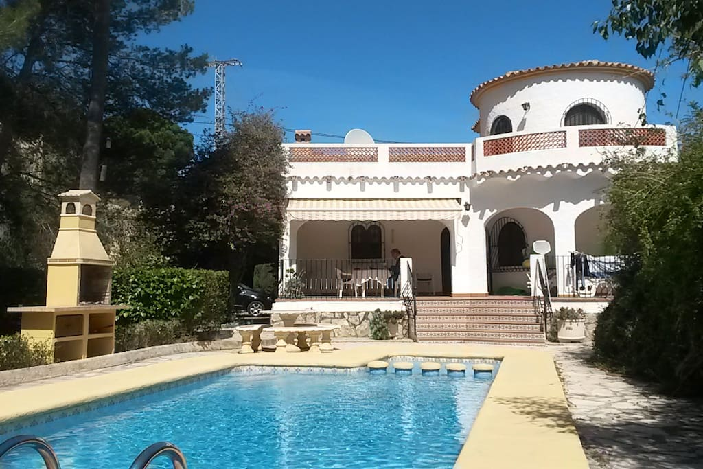 Casa Zenia with private pool with a toddler section