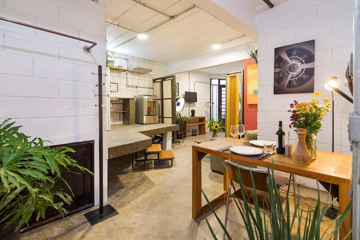 Vila Madalena - BEST Location, Artistic Apartment - São Paulo - Haus