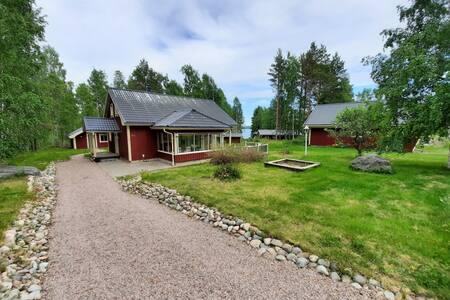 Mysigt hus i Höga Kusten