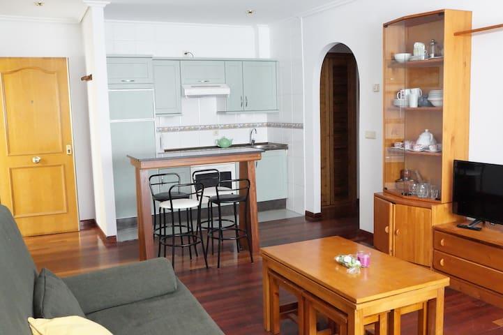 Apartamento  garaje y wifi  en Llanes