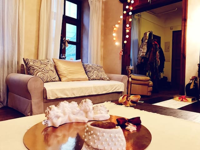 Cosy privateroom&family atmosphere in Oldtown Riga