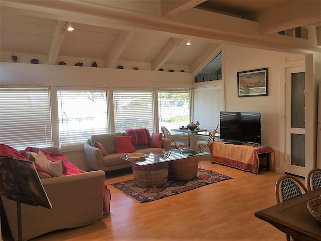 Cozy  French Provencal  2 bd with A/C in Sausalito