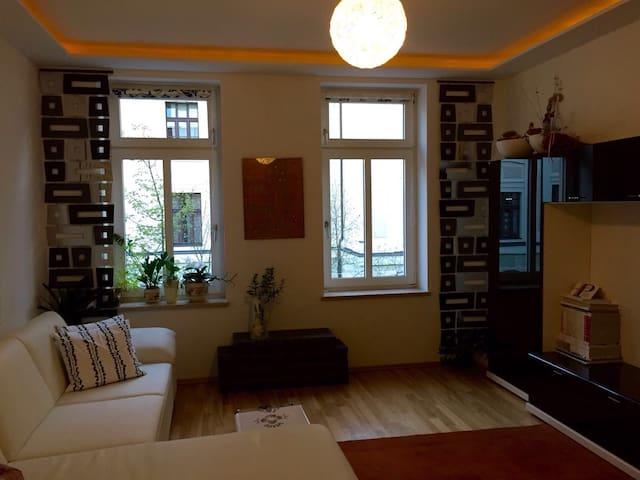 Gemütliche kleine Wohnung im Szeneviertel Plagwitz - ไลพ์ซิก - อพาร์ทเมนท์