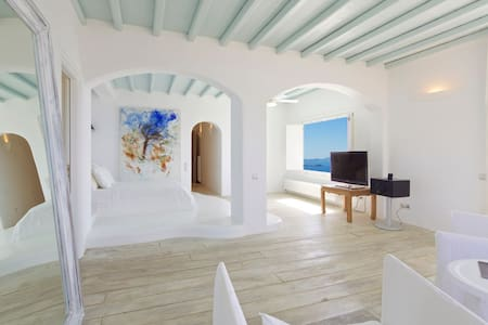 Mykonos Crystal Resort (Suite Honeymoon) - Míkonos