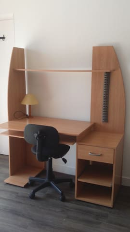 Grand studio dans longère rénovée - Plescop - Appartement
