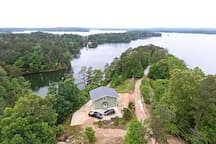Peaceful Wedowee House Steps from Lake w/Dock!