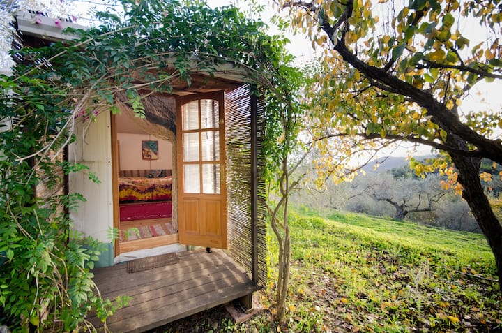 Small yurt-Yurt-Basic-Shared Bathroom