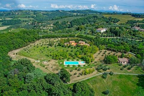 Agriturismo con piscina Tenuta Moriano Bilo Std