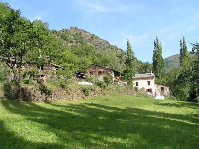 Petit gite d'étape et de séjour - Ayguatébia-Talau - Dormitori compartit