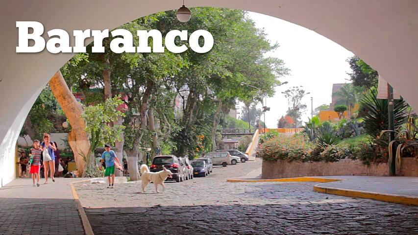 Habitación Privada y Amoblada 1 - Barranco, Lima.