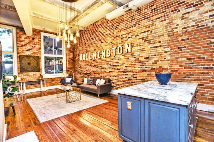 #WILMINGTON Industrial LOFT-Nationally Featured!
