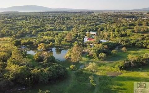 Campo de Golf y alojamiento ecologico