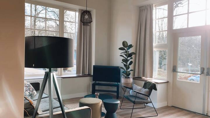 Appartement op de Veluwe met openslaande deuren