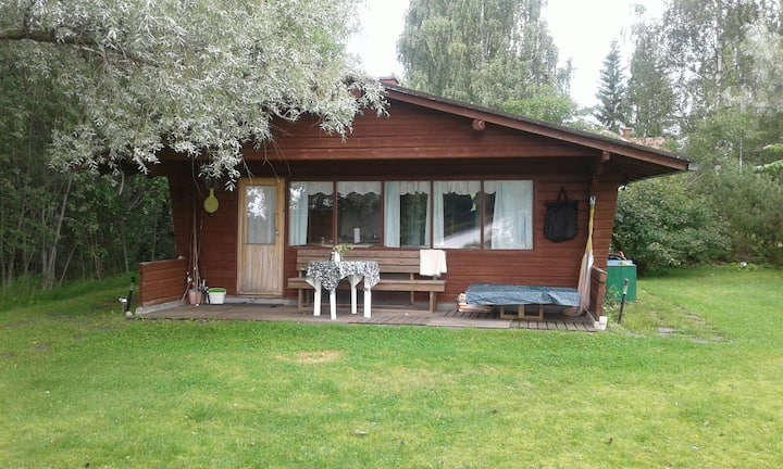 Mökki + talo Saraveden rannalla - summercottage