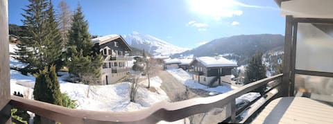 "Appartement vue imprenable ""La Clusaz"" 5min pistes"