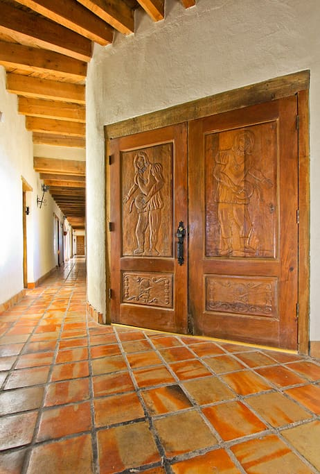 350 year old Mission style doors from Spain