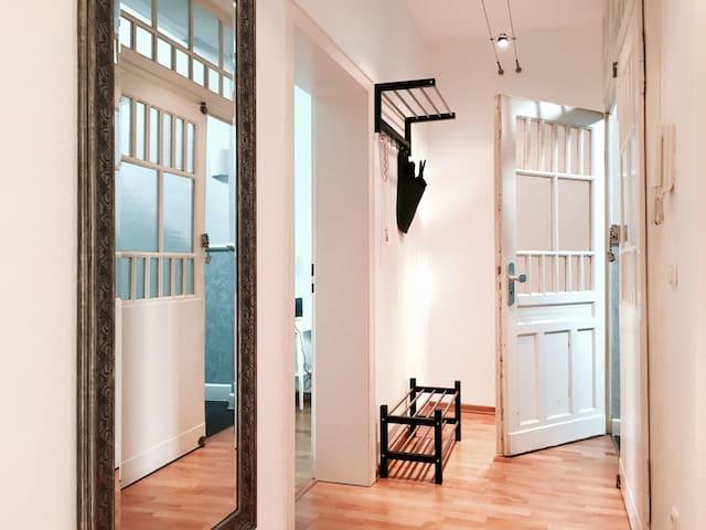 Helle gemütliche Altbauwohnung mit viel Charme - Duisburg - Apartament
