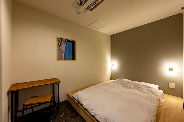 plat hostel keikyu minowa forest Standard Double